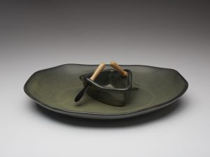 Boat on a Pond Dip Set - Sage